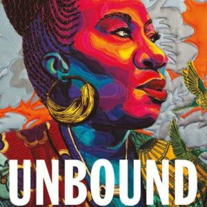 cover of UNBOUND book by Tarana Burke, graphic portrait of the author